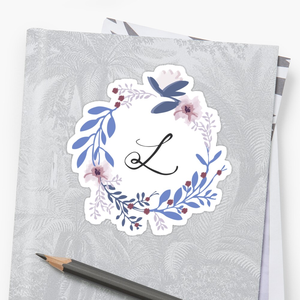Flowers and the Letter L by Leah Price