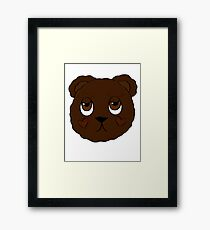 Mr. Teddy Is Not In Love Framed Print