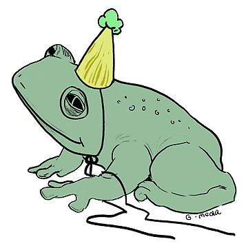 party frog by giannameola