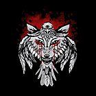Wolf & Raven by MaratusFunk