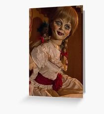 Annabelle movie Greeting Card