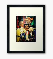 Black Kid Magic H. Potter Vivid Framed Print
