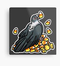 Spooky Birds - Candycorn King Metal Print