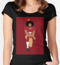Kaepernick: Take The Knee Women's Fitted Scoop T-Shirt