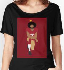 Kaepernick: Take The Knee Women's Relaxed Fit T-Shirt