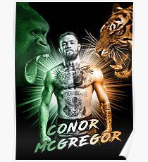Conor McGregor Beasts Inside Poster