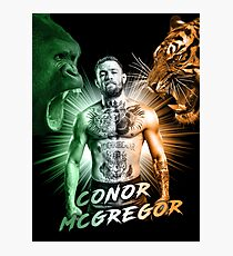 Conor McGregor Beasts Inside Photographic Print