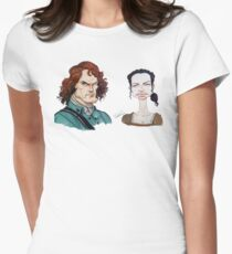 Outlander Parody Women's Fitted T-Shirt