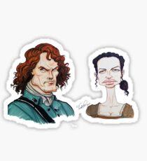 Outlander Parody Sticker