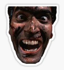 Evil Dead with Ash Sticker
