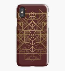 Dice Deco Gold iPhone Case/Skin