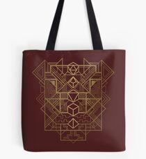 Dice Deco Gold Tote Bag