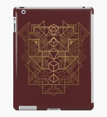 Würfel Deco Gold iPad-Hülle & Klebefolie