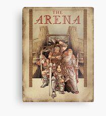The Arena Oblivion Metal Print