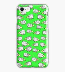 A Flock of Sheep in a Field iPhone Case/Skin