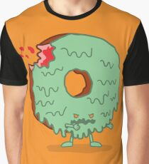 The Zombie Donut Graphic T-Shirt