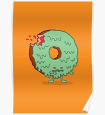 The Zombie Donut Poster