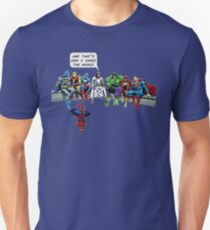 And That's How I Saved The World Jesus T-Shirt