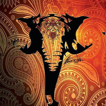 Exotic Elephant by artbyamw
