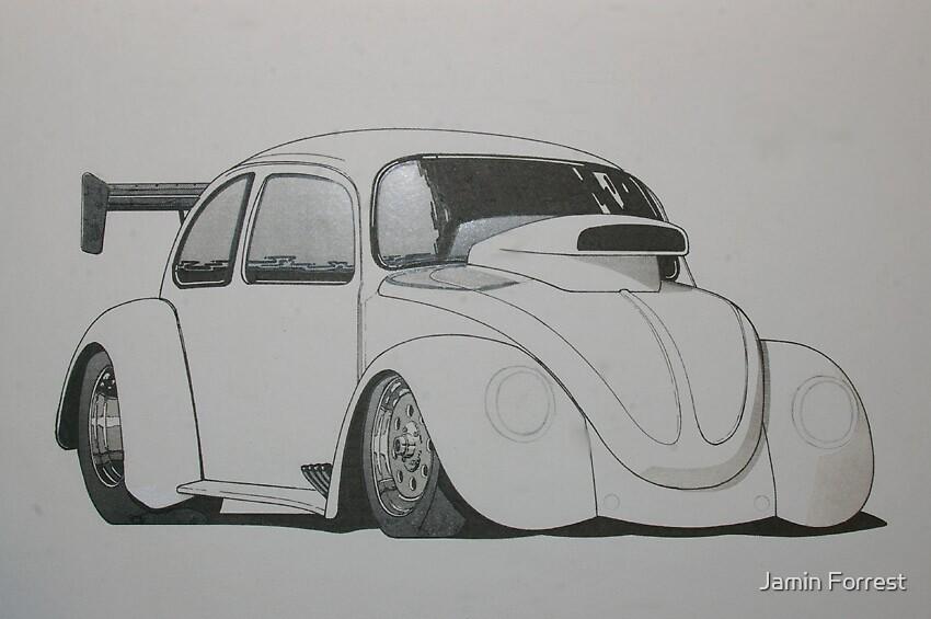 VW Beetle by Jamin Forrest