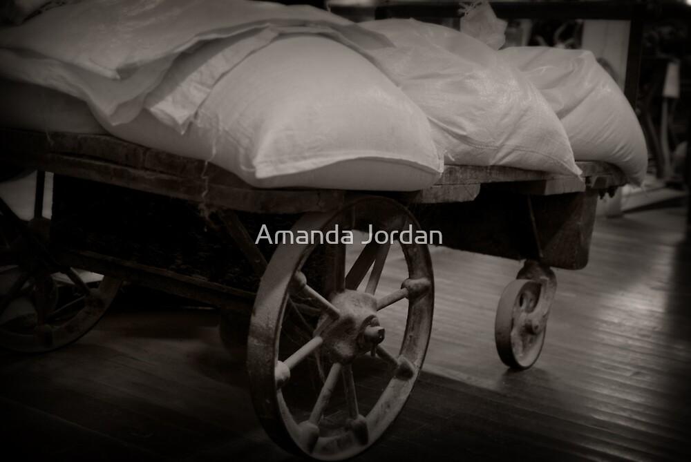 Wagon of Sacks by Amanda Jordan