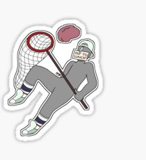 """""""Out to Lunch"""" Dissociation  Sticker"""