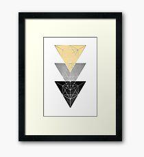 Geometric Luxe Framed Print
