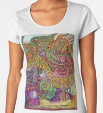 Steampunk Gamer Creature Design Women's Premium T-Shirt