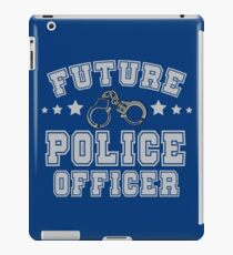 Future Police Officer | Policeman | Law Enforcement iPad Case/Skin