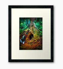 Down the Rabbit Hole Framed Print