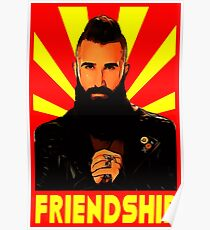 paul friendship Poster