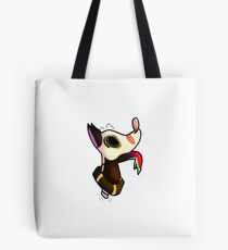 """Spups"" the Boneheaded Dog Tote Bag"