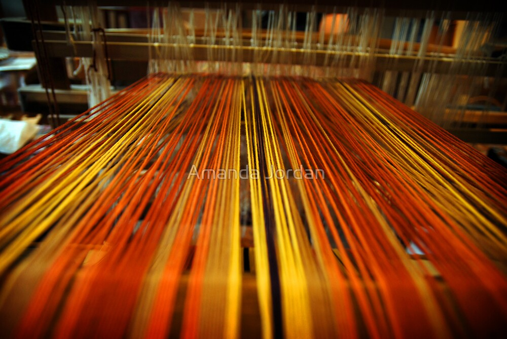 Spinning Machine by Amanda Jordan