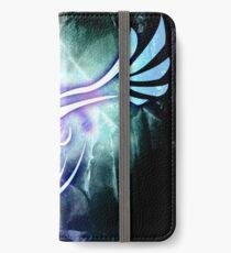 Stammes-Lugia iPhone Flip-Case/Hülle/Skin