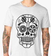 Symmetry Skull (Transparent) Men's Premium T-Shirt