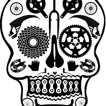 Symmetry Skull (Transparent) by Herandi
