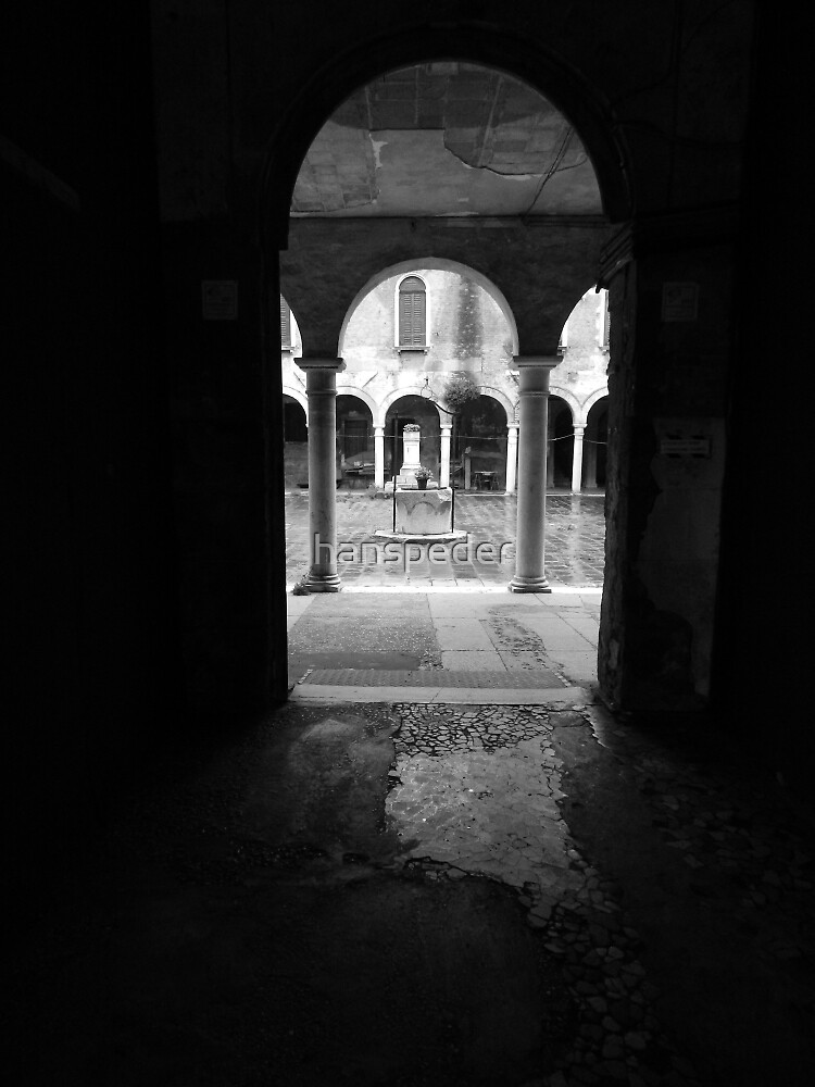 The Cloister by hans p olsen