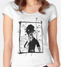Hunter S. Thompson: America Dry Rot Women's Fitted Scoop T-Shirt
