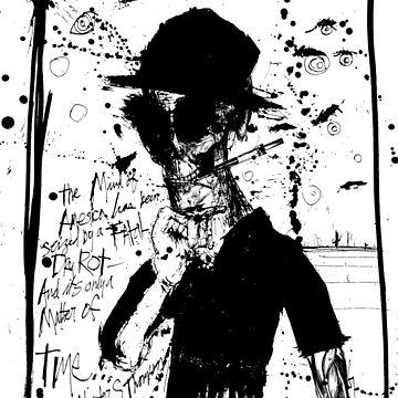 Hunter S. Thompson: America Dry Rot by HouseofDaze