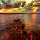 Karuha Sunset by Centralian Images