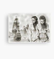 The Revenge of The Mist Canvas Print