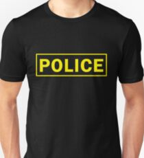 Police, Police Officer, Sheriff , Law Enforcement, Police Halloween Costume T-Shirt