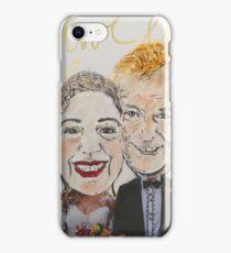 Wedding Postcard iPhone Case/Skin
