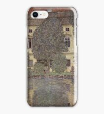 Castle chamber at the Attersee 1910 Gustav Klimt iPhone Case/Skin