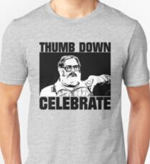 Baseball Celebration Thumbs Down  T-Shirt