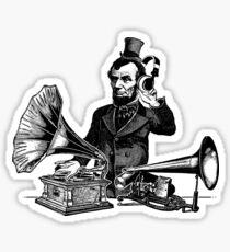 DJ-braham Lincoln Sticker