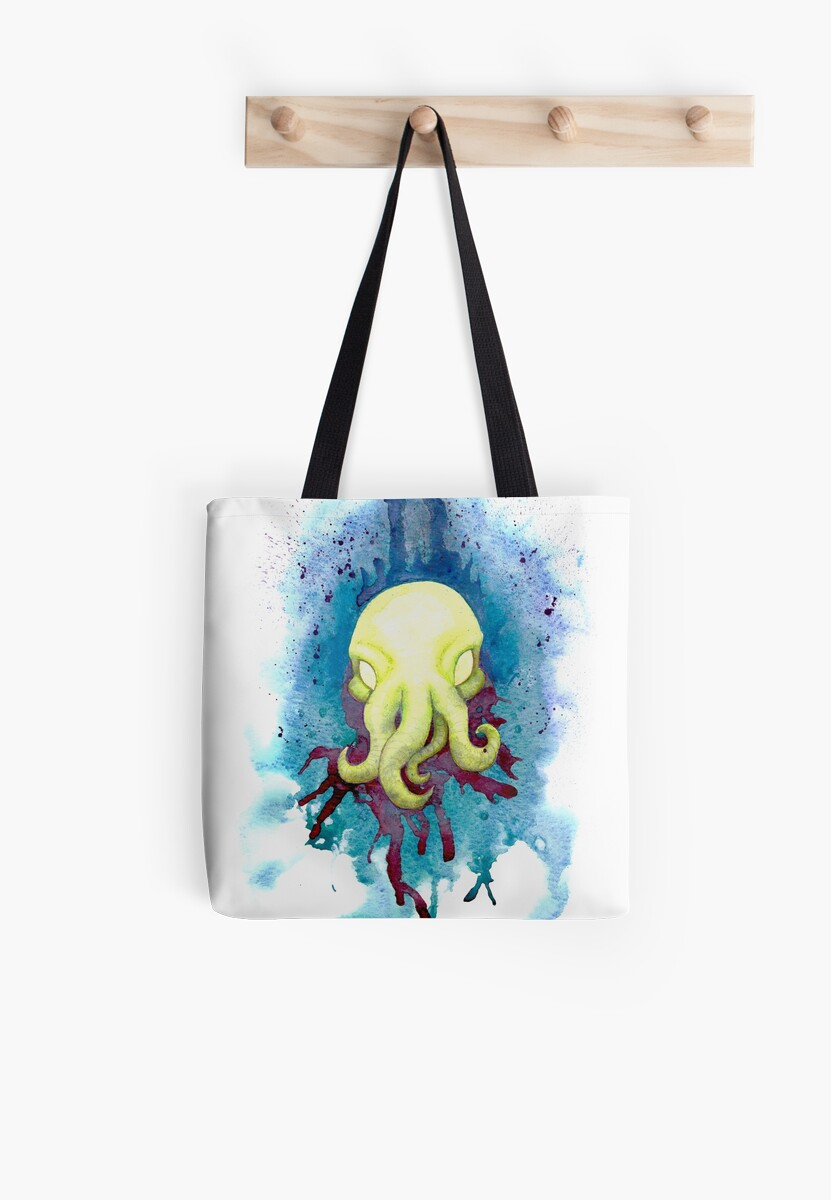 Cthulhu Waits Dreaming by DinobotTees