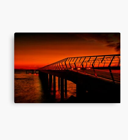 """Majestic Morning in Lorne"" Canvas Print"