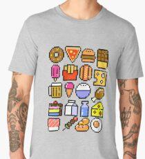 8 bit Foodie v2 Men's Premium T-Shirt