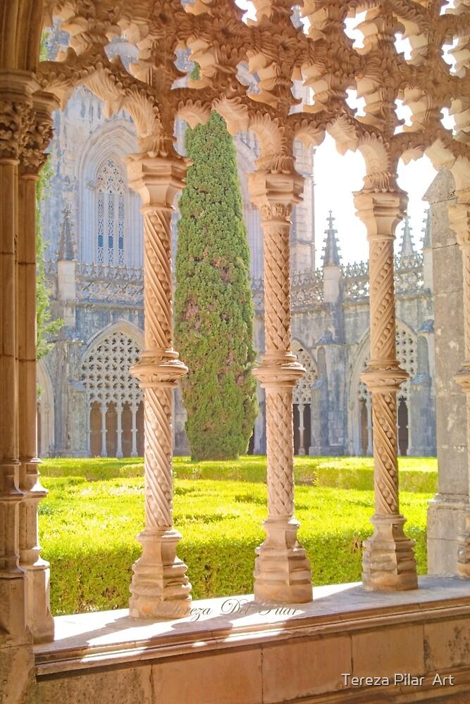 Mosteiro da Batalha Claustro. King John I Cloisters of Batalha Monastery. by terezadelpilar ~ art & architecture
